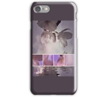 Arty blossoms in pink iPhone Case/Skin