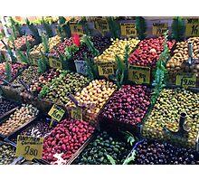 Turkish Olives Photographic Print
