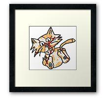 Cat Take 1 Framed Print