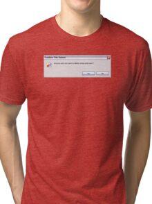 Stress and Work Tri-blend T-Shirt