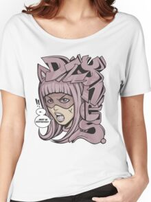 Dzynes must be destroyed! (pink) Women's Relaxed Fit T-Shirt
