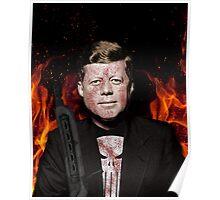The Punisher + JFK Mash Up Poster