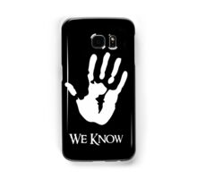 We Know Samsung Galaxy Case/Skin