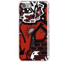 Eye-Phone Case Red iPhone Case/Skin