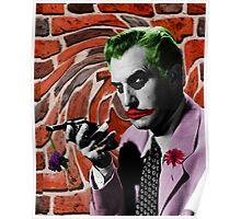 The Joker + Vincent Price Mash Up Poster