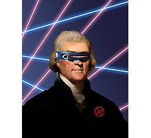 Cyclops + Thomas Jefferson Mash Up Photographic Print