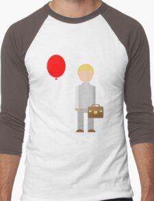 Red Balloon Men's Baseball ¾ T-Shirt