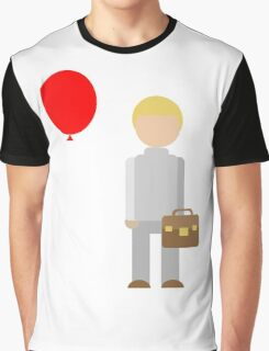 Red Balloon Graphic T-Shirt