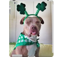 St Pittie's Day  iPad Case/Skin