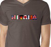 WORLD HETALIA FLAGS Mens V-Neck T-Shirt