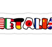 WORLD HETALIA FLAGS Sticker