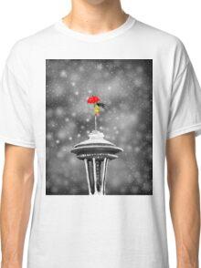 Seattle Snow Classic T-Shirt