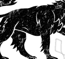 Team Nymeria (Black) Sticker