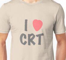 Steins Gate - I Heart CRT Unisex T-Shirt
