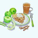 Granny Smith Apple Pie by joeyartist