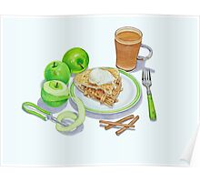 Granny Smith Apple Pie Poster