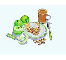 Granny Smith Apple Pie Photographic Print