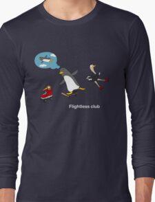 Flightless club 3 Long Sleeve T-Shirt