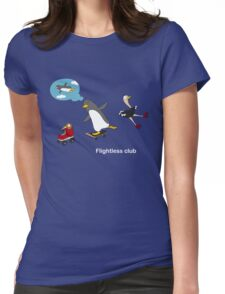 Flightless club 3 Womens Fitted T-Shirt