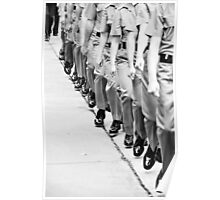 marching feet Poster