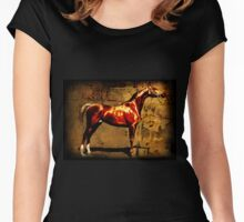 The Chestnut Colt Women's Fitted Scoop T-Shirt