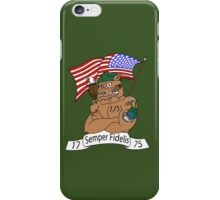 1st Battalion 5th Marines iPhone Case/Skin