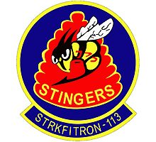 VFA-113 Stingers Patch Photographic Print