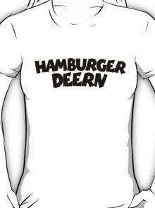 Hamburger Deern (Schwarz) T-Shirt