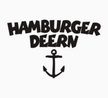 Hamburger Deern Anker (Schwarz) Kids Clothes