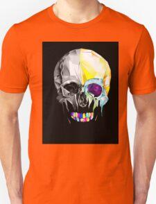 Graphic Geometric Low Poly Skull Design T-Shirt