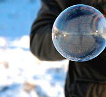 Frozen Bubble Reflection by adelinadesi