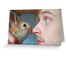 Look at me, Rabbit Greeting Card