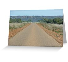 The road to heaven... Greeting Card