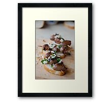 Recipe for Valentines Day Framed Print