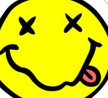 Mr Nevermind Sticker