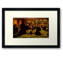 Not the end Framed Print