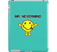 Mr Nevermind iPad Case/Skin