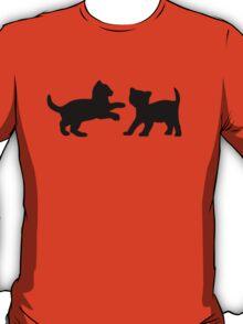 Kittens Playing T-Shirt