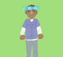Franklin flower crown by onelasttrick