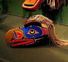 Eagle Totem Mask, Montclair Art Museum by Jane Neill-Hancock