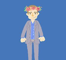 Michael flower crown by onelasttrick