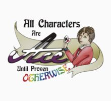 All Characters Are Ace Until Proven Otherwise by Christina De Ville