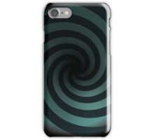 Abstract Tunnel Vision Swirl iPhone Case/Skin