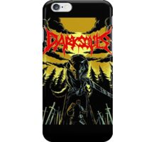 Unofficial Dark Souls Metal Band Poster iPhone Case/Skin
