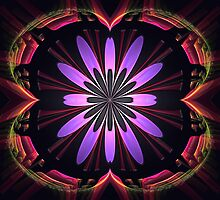 Flower Portal by Pam Amos