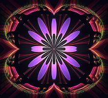 Flower Portal by Pam Amos