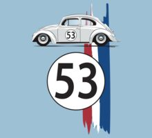 VW Beetle Herbie Kids Tee