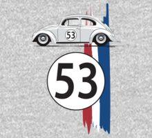 VW Beetle Herbie One Piece - Long Sleeve