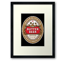 Butter Beer - Rosmertas Original Recipe Framed Print