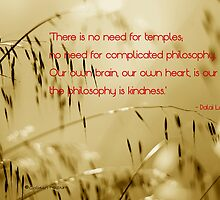 The philosophy of kindness by Colleen Milburn